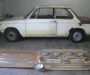 Here I go again 1968 Bmw 1600 project from BAT