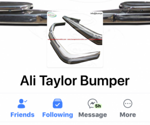 Anyone buy reproduction bumpers from this company ?