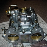 back of DCOE carb
