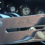 E. Nardi signed Steering wheel