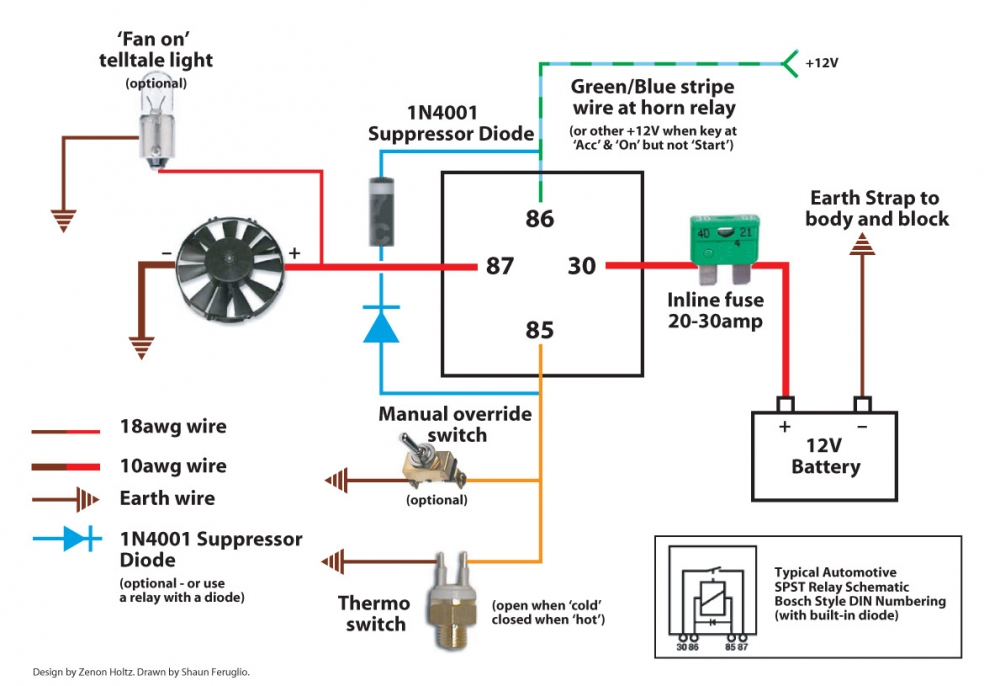 Electric Fan Wiring - Electrical And Ignition
