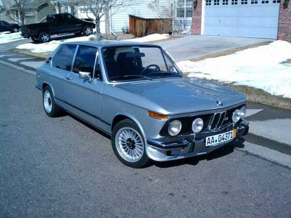 1971 bmw 2002 tii touring in denver co cars for sale. Black Bedroom Furniture Sets. Home Design Ideas