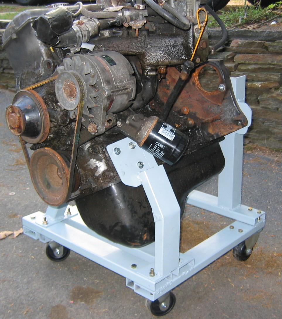 Bmw M10 Engine: M10 Custom Engine Stand For Storage