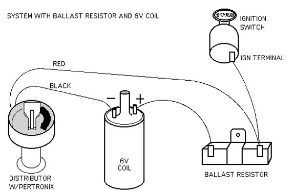 no brainer wiring question ballast resistor bmw 2002 general rh bmw2002faq com ignition coil ballast resistor wiring diagram ballast resistor ignition wiring diagram