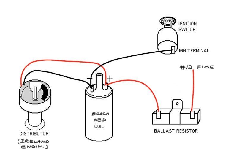 coil resistor wiring diagram anything wiring diagrams u2022 rh flowhq co Ballast Resistor Wiring Diagram 12 Volt to 6 Volt Resistor Wiring Diagram