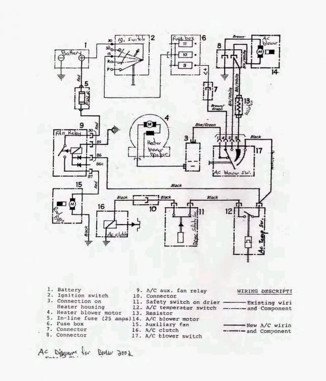 Anyone have a Frigiking wiring diagram? - BMW 2002 General ...