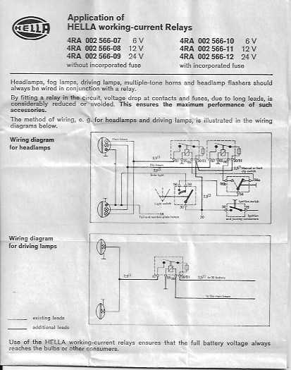 hella fog light relay wiring diagram for fog lights bmw 2002 rh bmw2002faq com bmw r1200gs fog light wiring diagram BMW 528I Radio Wiring Diagram