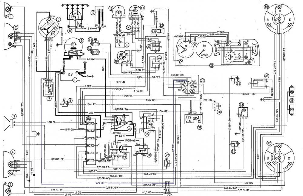 1974 Bmw 2002 Wiring Diagram - DIY Enthusiasts Wiring Diagrams •