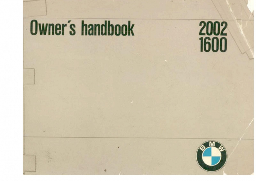 2002 owners manual history and reference bmw 2002 faq rh bmw2002faq com bmw 2002 owners manual pdf 2002 bmw x5 owners manual