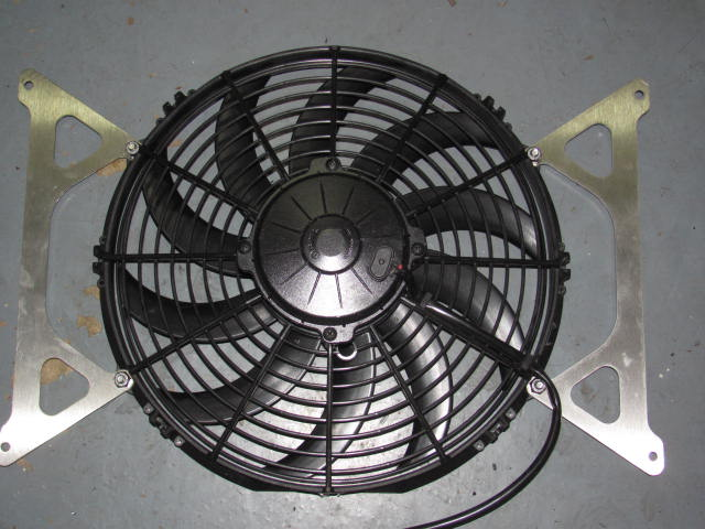 Fan Mounting Hardware : Installation of spal fan with massive mounting