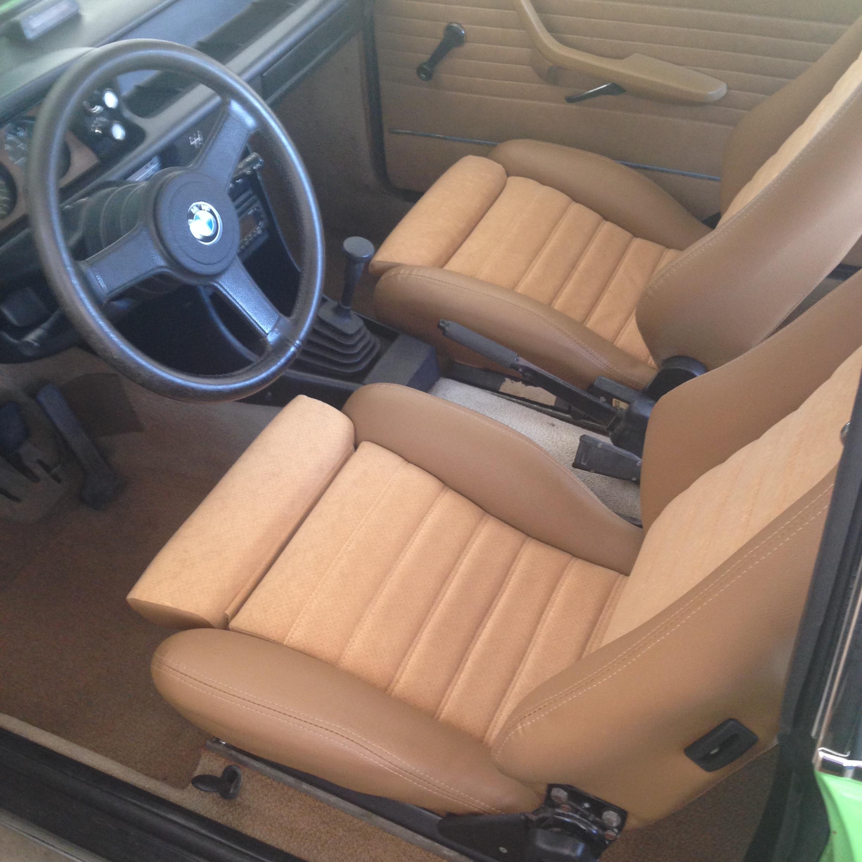 Seats Are In Lite Restoration On My 1975 Mintgrun 2002 Bmw 2002 Faq