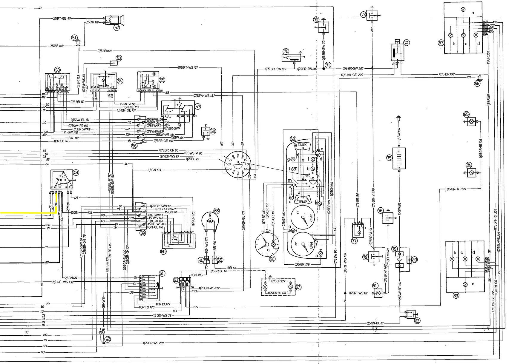 wiring diagram bmw e10