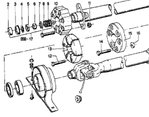 Saginaw 3 Speed Transmission Diagram