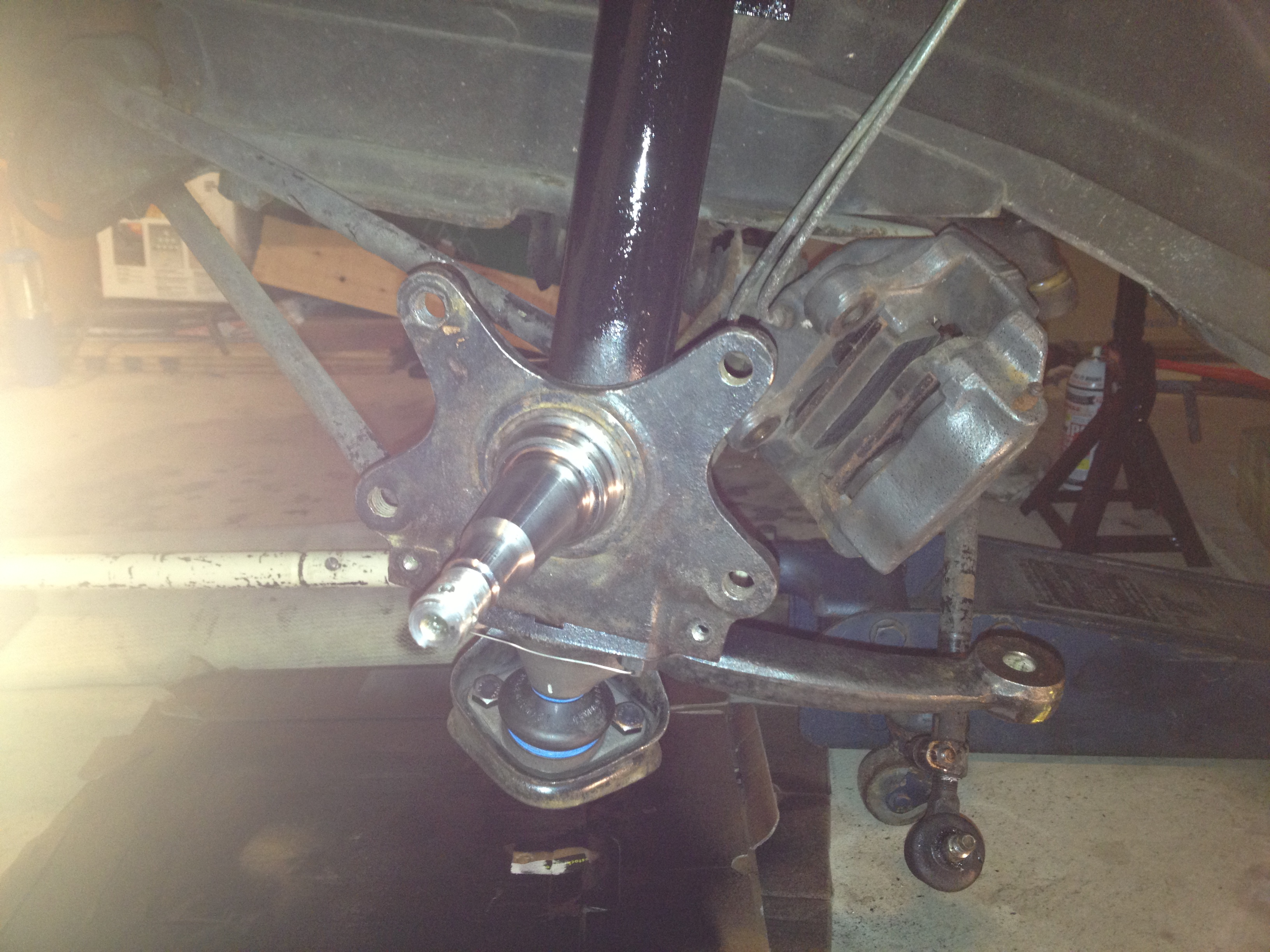 Spring Strut Install over Ball Joint/Wishbone - BMW 2002 General ...