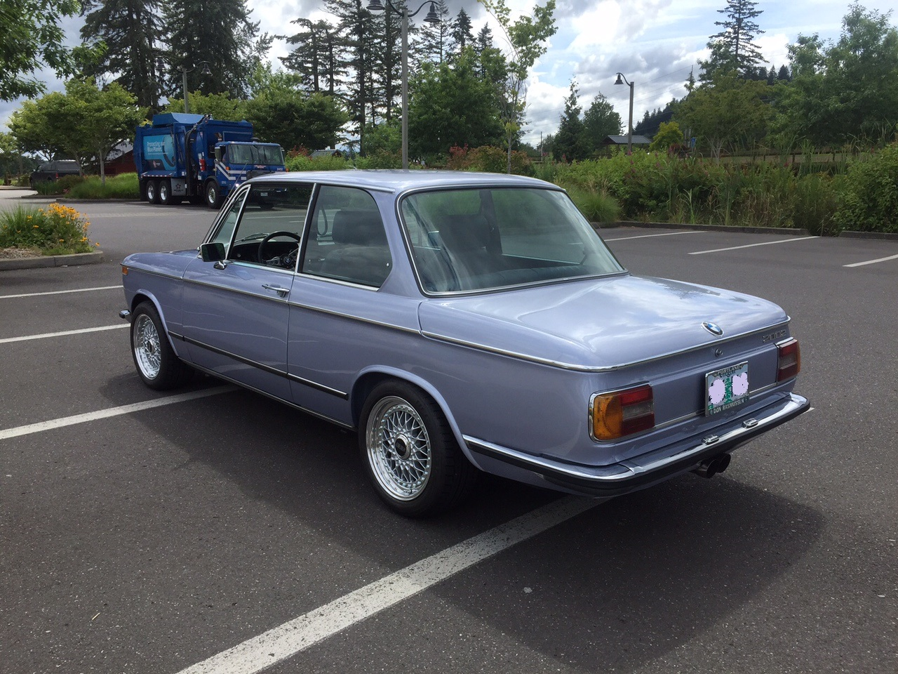 Bmw 2002 euro bumpers