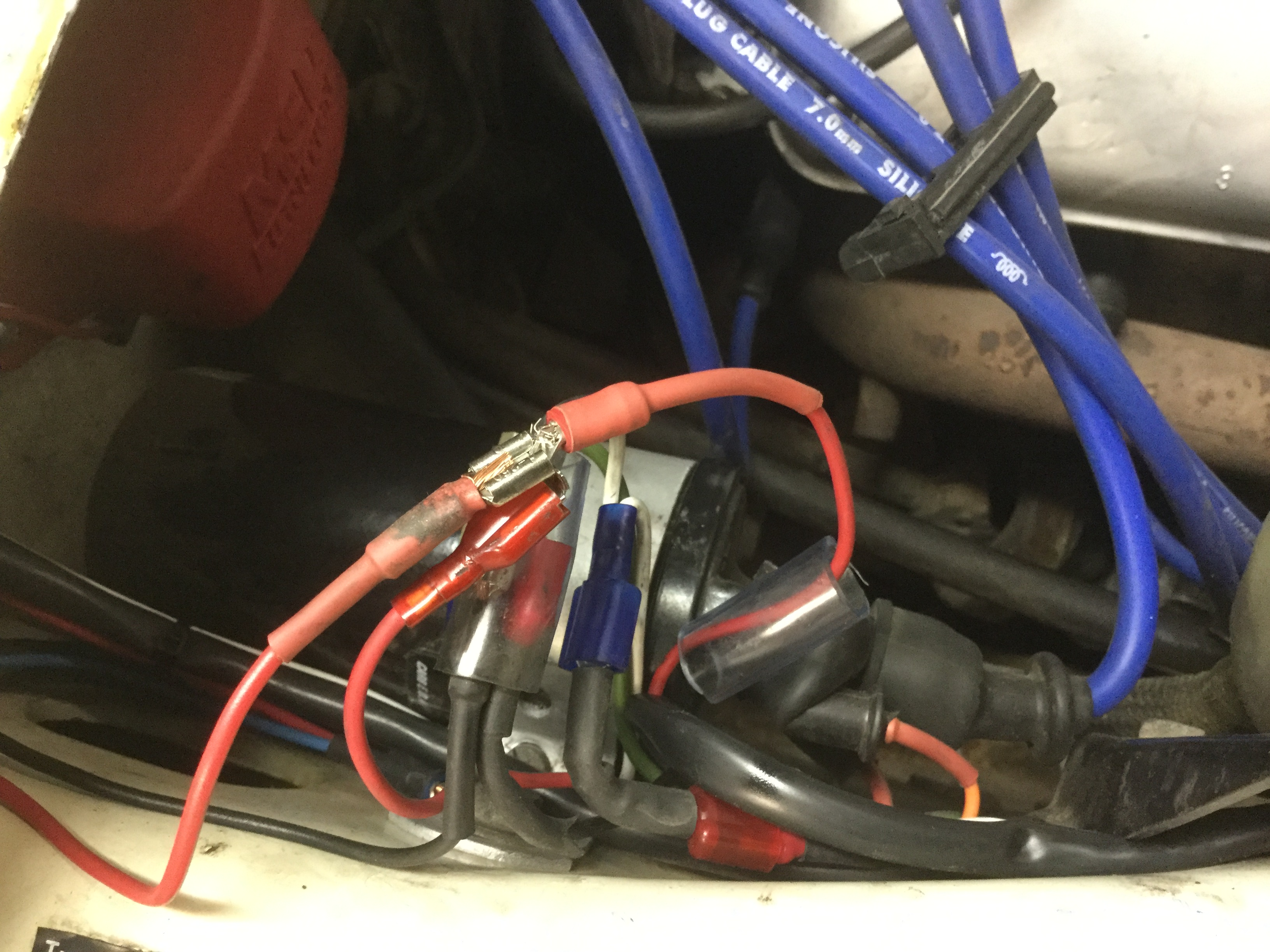 123ignition Set Up Installation Information Collaborative Page 2 Bmw 2002 Wiring Loom For The Cdi Ignition Comes From Right With Red And White Wires 123 Left Black Blue
