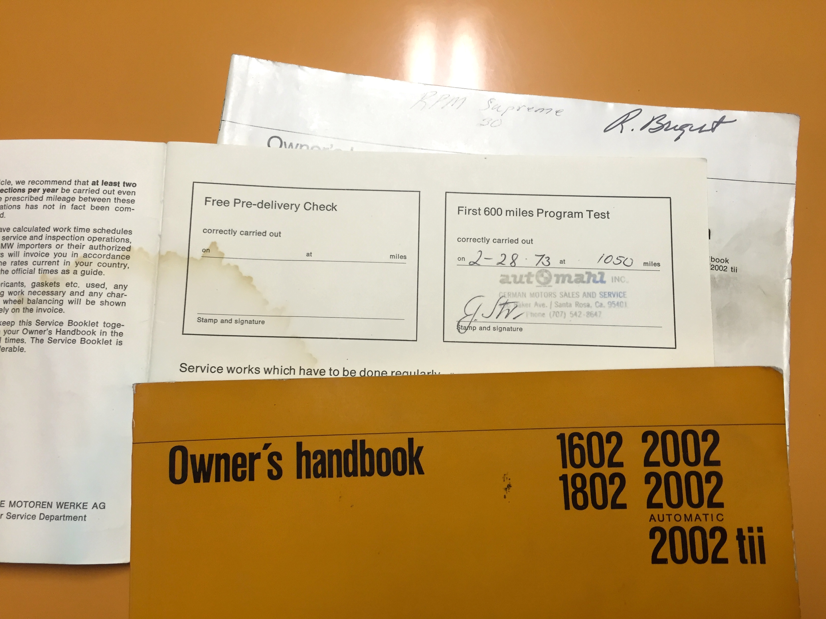 2002 owners manual history and reference bmw 2002 faq.