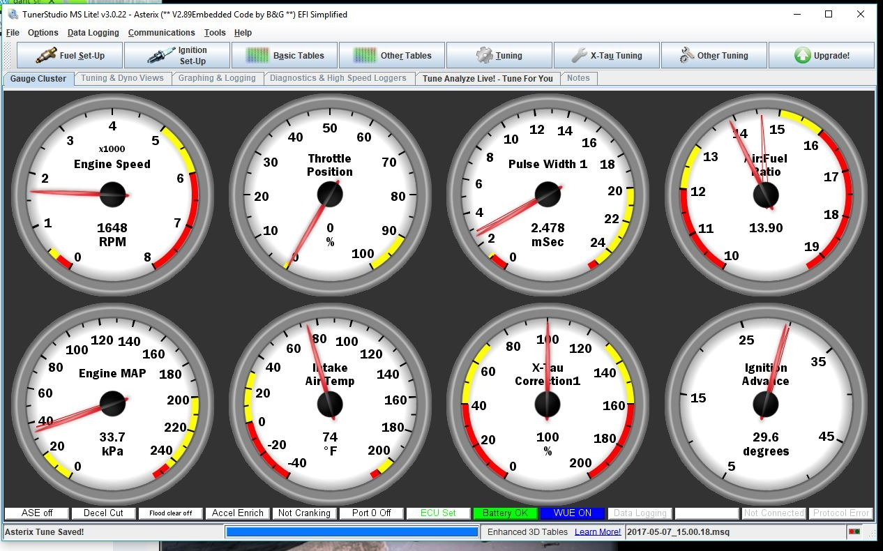 Megasquirt Efi And Edis For The Bmw 2002 Part 1 Engine 2 Wiring Diagram View Tuning Spark