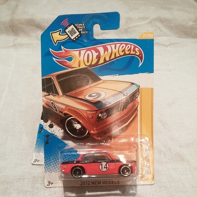 Hot Wheels. Orange and black