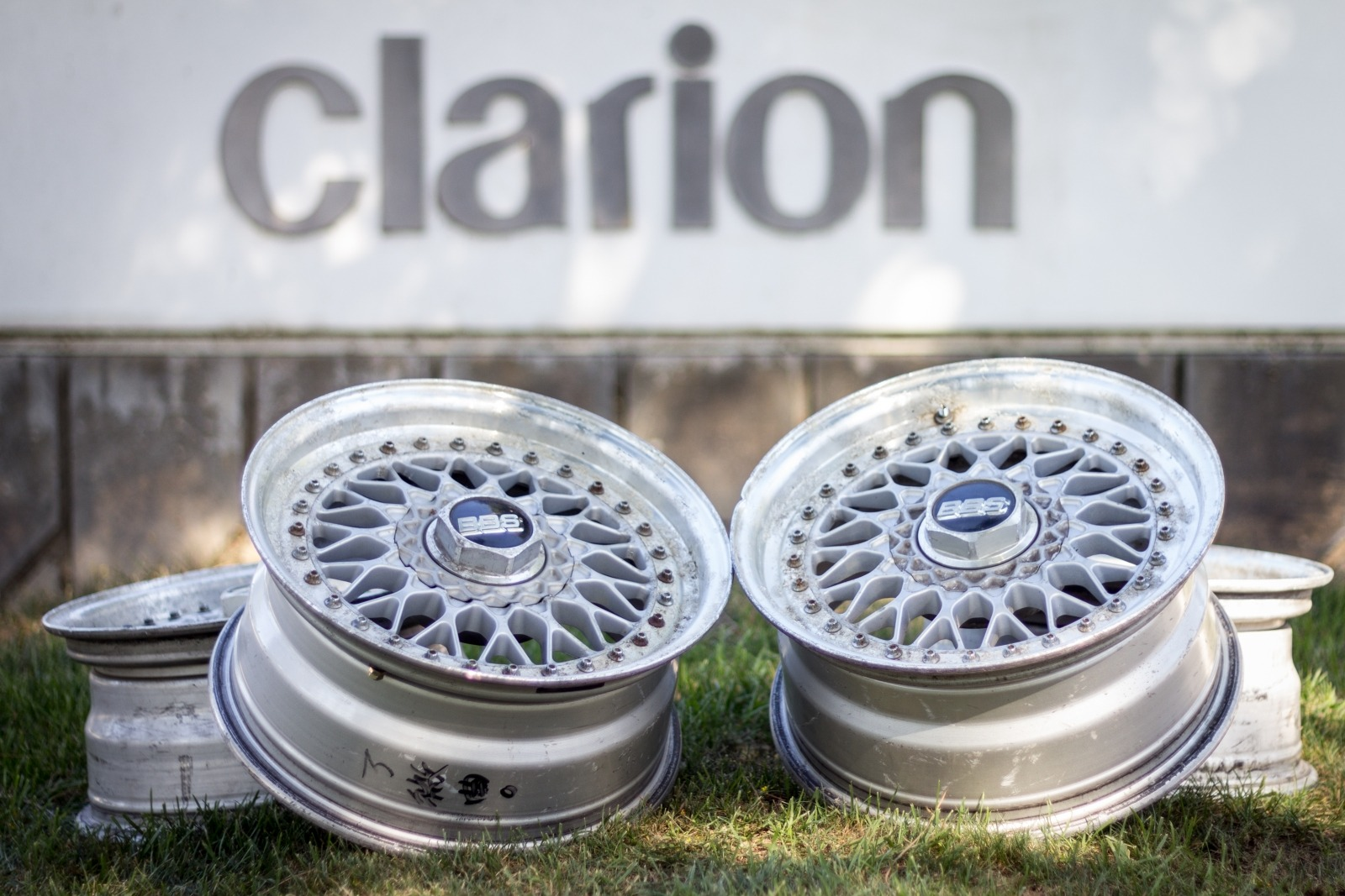 Clarion Builds BBS Wheels 9