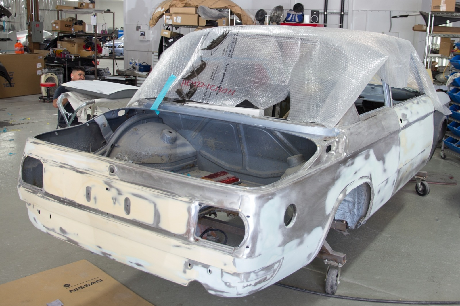 Clarion Builds Body Work 2