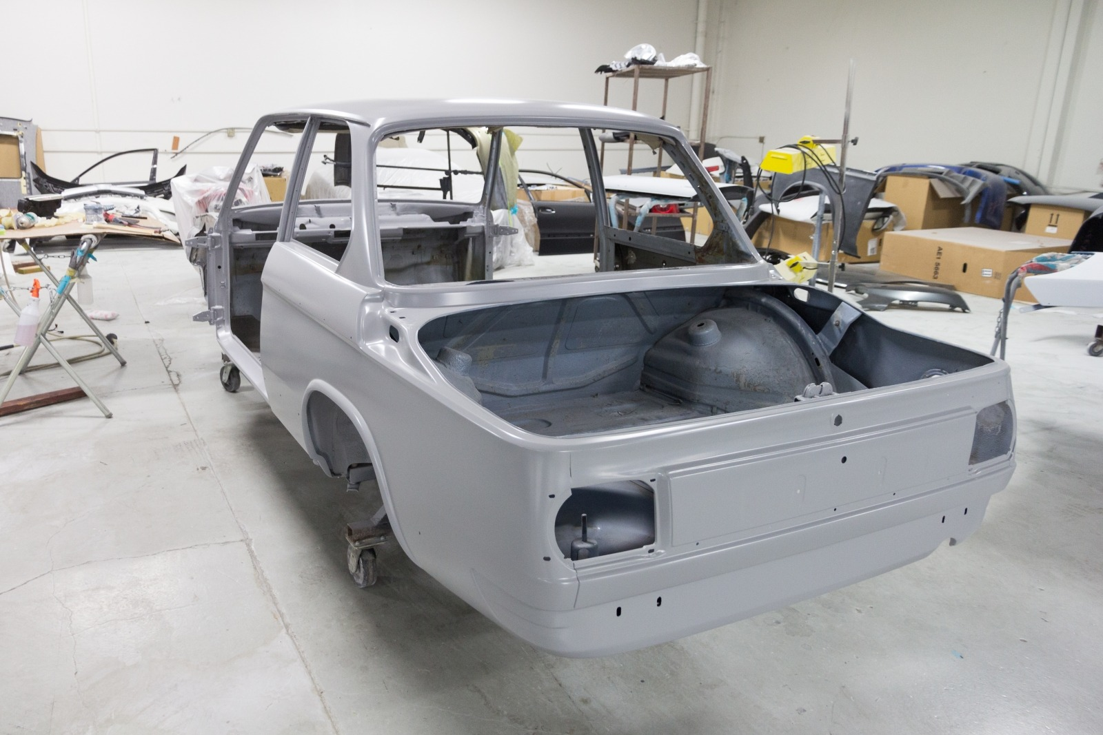 Clarion Builds BMW 2002 Paint 6