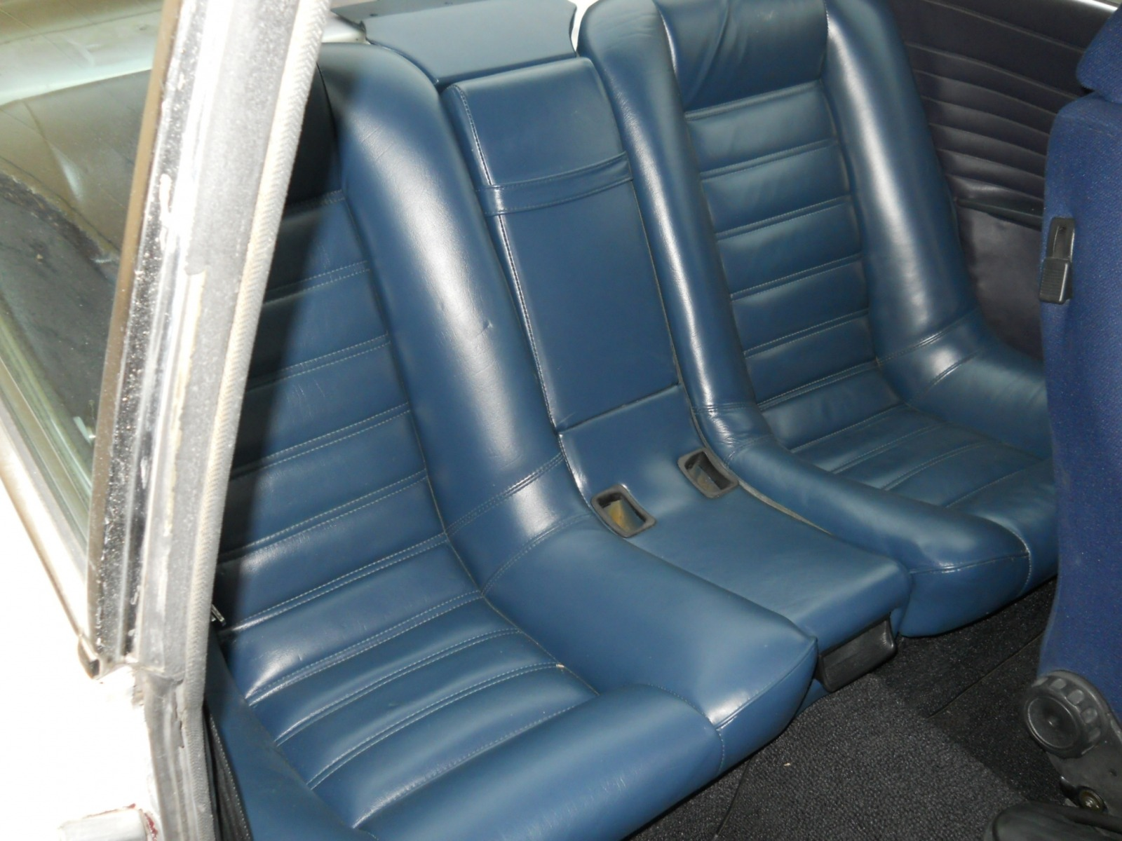 rear seats - no they don't just bolt in!