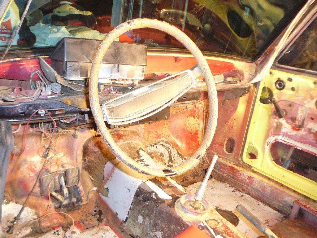 Dashboard Before   Driver's Side
