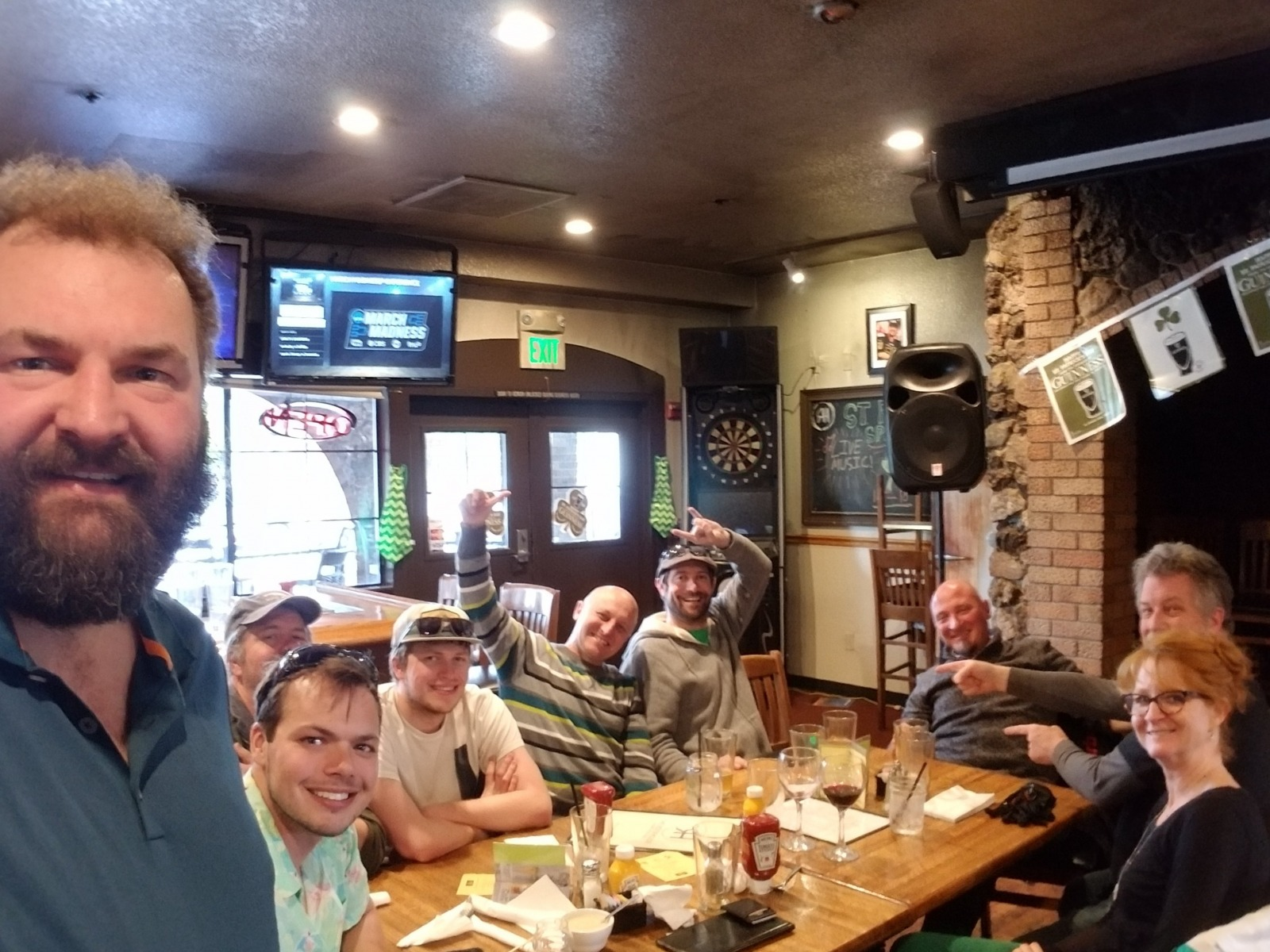 Great post Rally lunch croud