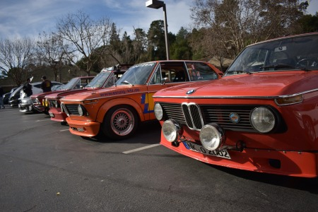 Cars and Coffee Portola Valley - Feb 2018