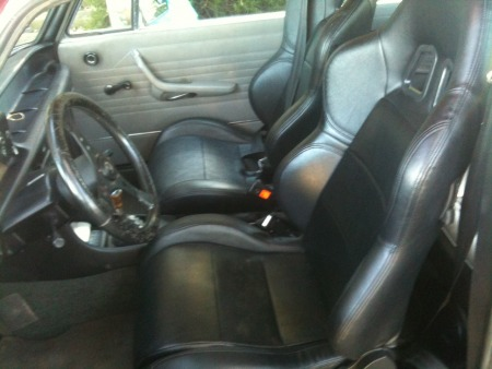 Cheap new front seats