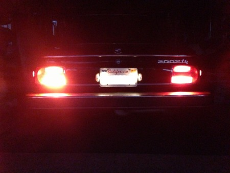 new brake & tail lights