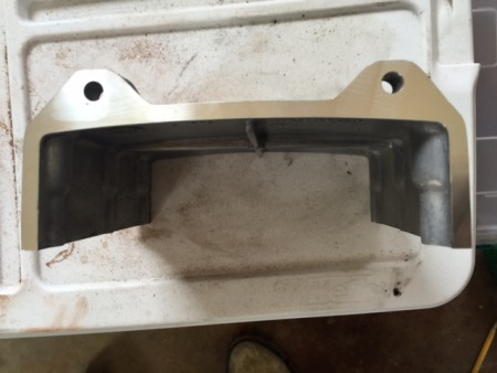 Machined upper timing cover