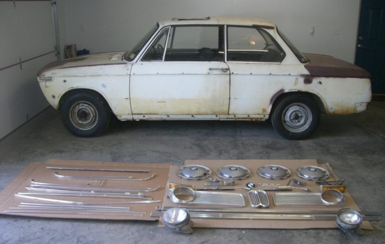Here I go again 1968 Bmw 1600 project from BAT - BMW 2002 General ...