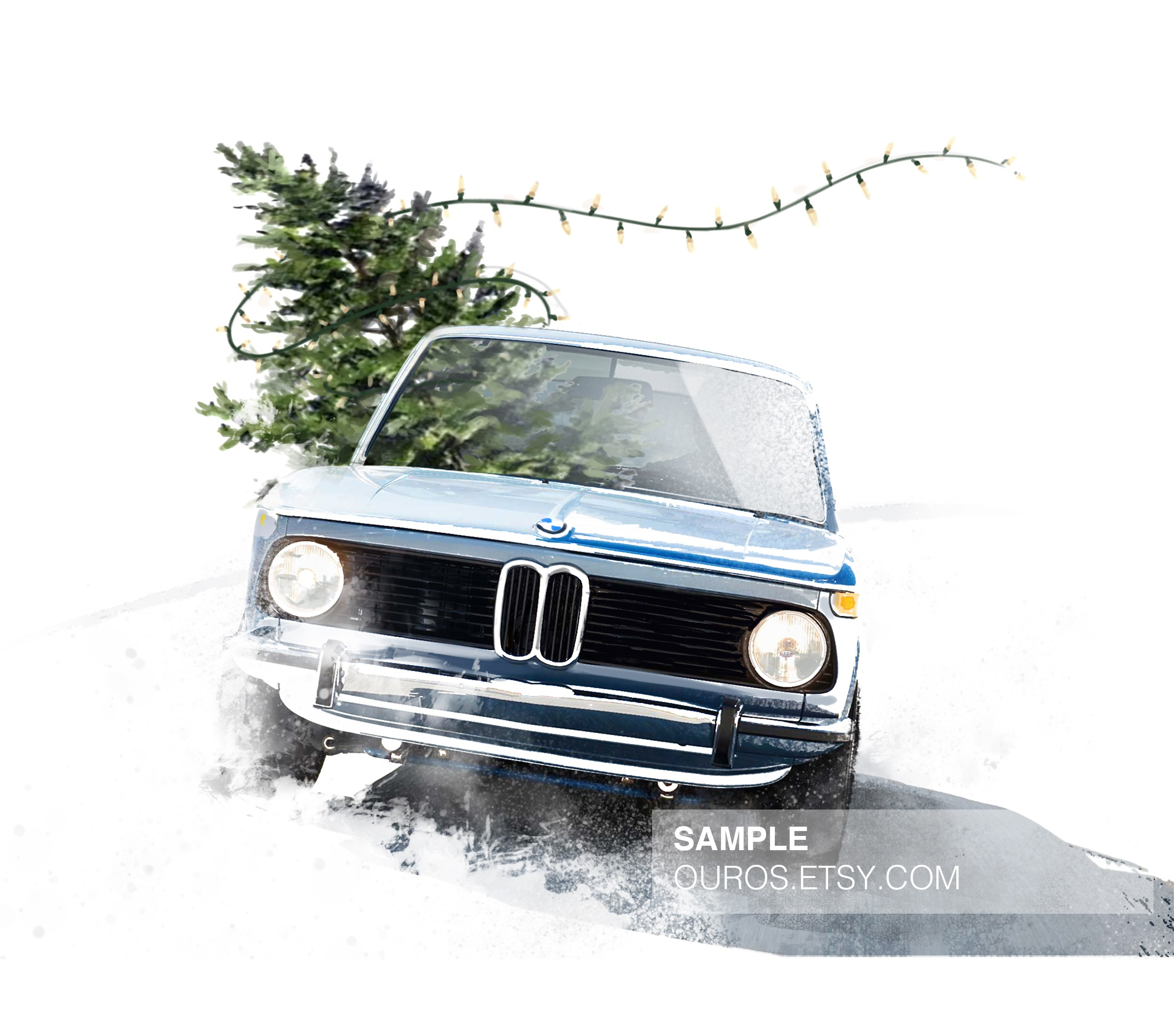 I Made Some 2002 Christmas Cards Bmw 2002 General Discussion