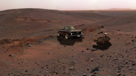 2. Photo-op with Spirit in Gusev Crater